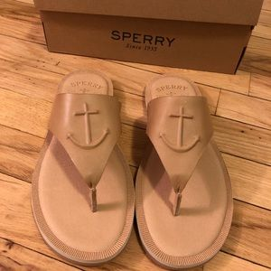 Women's Sperry Leather Sandals NEW WITH BOX